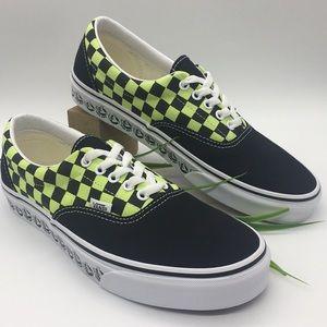 Vans Era ((Vans Bmx)Blk/Sharp Green Checkerboard